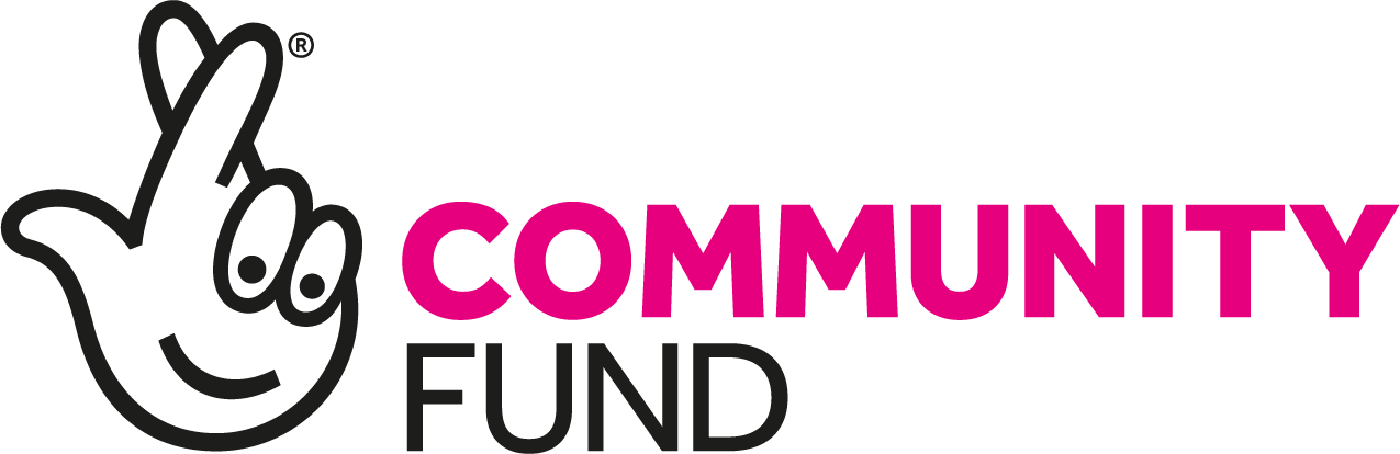 Logo of the National Lottery Community Fund.